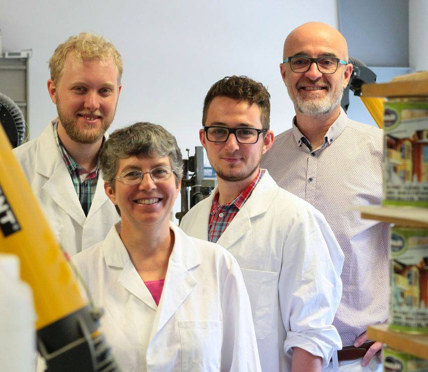Equipe de laboratoire Mauler
