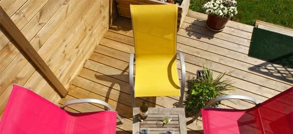 Conseils pour traiter une terrassse en bois