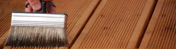 Traitement d'une terrasse en bois