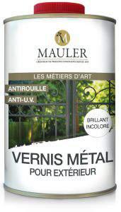 vernis metal pour exterieur