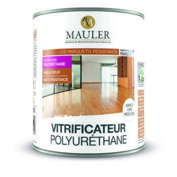 Vitrificateur polyurethane ultra résistant sans odeur Mauler