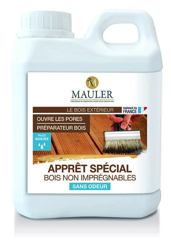 Appr t sp cial bois non impr gnables sans odeur mauler for Cire de finition ferronnerie liberon