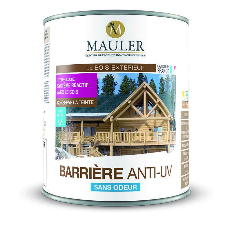 barri re de protection anti uv pour les bois ext rieur mauler. Black Bedroom Furniture Sets. Home Design Ideas