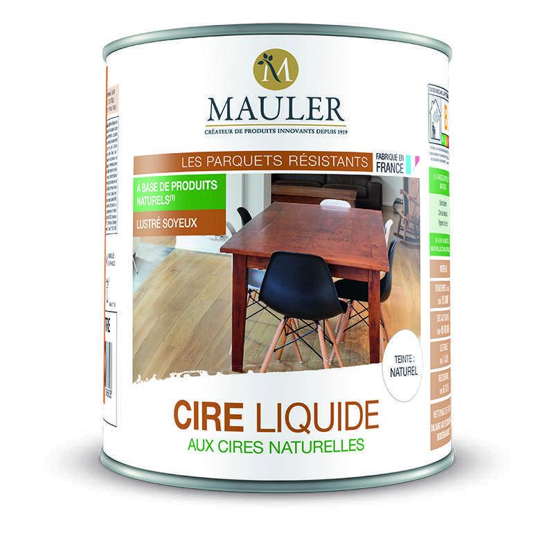 cire liquide aux cires naturelles pour meuble et parquet sans odeur mauler. Black Bedroom Furniture Sets. Home Design Ideas