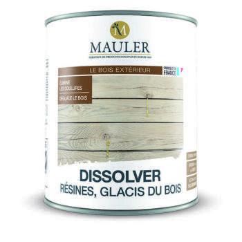 Dissolver de résines et glacis du bois Mauler