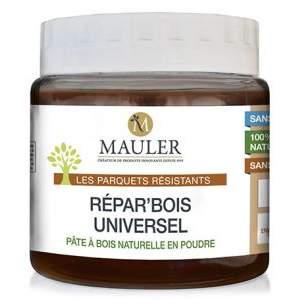 Enduit de rebouchage bois 100% naturel Repar bois universel Mauler