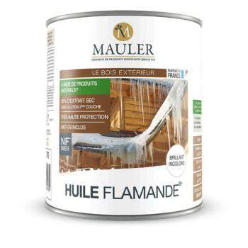 Huile flamande anti-uv et à base d'huiles naturelles Mauler