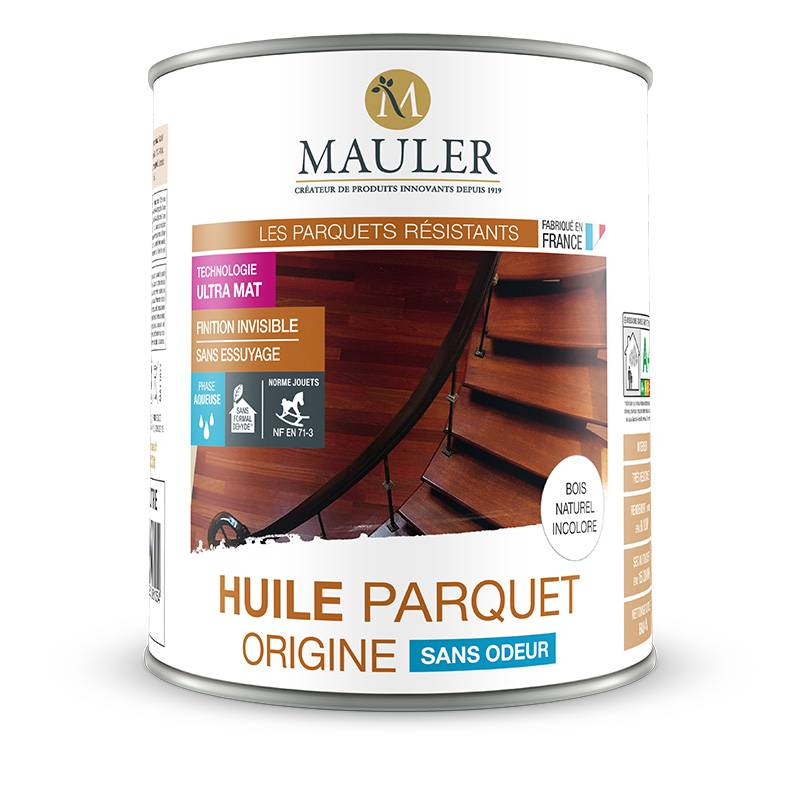 huile parquet d 39 origine sans odeur mauler. Black Bedroom Furniture Sets. Home Design Ideas