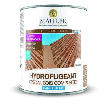 hydrofugeant spécial bois composites sans odeur Mauler