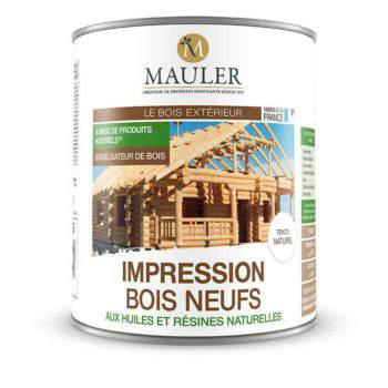 Impression bois neufs stabilisateur de bois Mauler