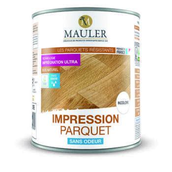 Impression parquet sans odeur Mauler