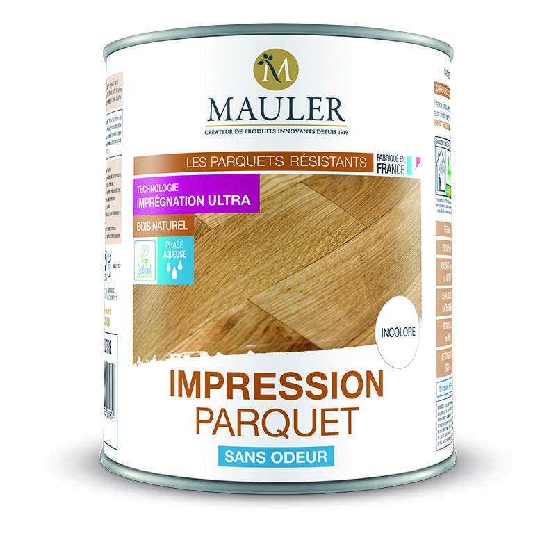 IMPRESSION PARQUET SANS ODEUR - Mauler