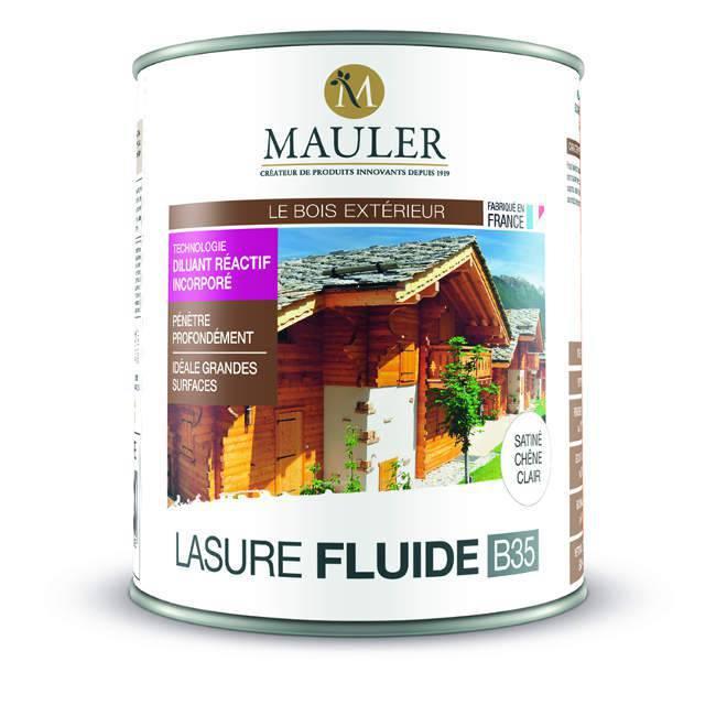 lasure fluide b35 professionnelle pour bois ext rieur mauler. Black Bedroom Furniture Sets. Home Design Ideas