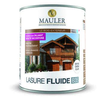 Lasure fluide B35 pour bois extérieur Mauler