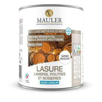 Lasure lambris, poutres et boiseries spécial chais sans odeur Mauler