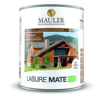 Lasure mate B10 pour bois extérieur Mauler