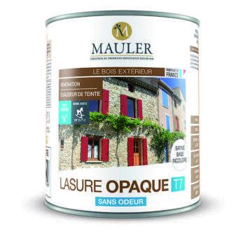 Lasure opaque T7 pour bois extérieur Mauler