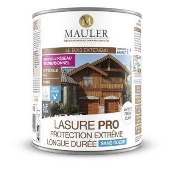 Lasure pro haute-protection écolabel sans odeur Mauler