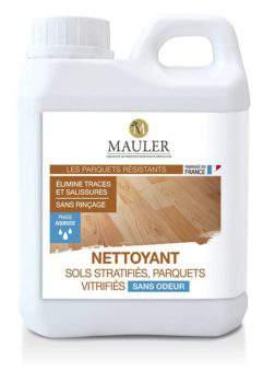 Nettoyant sols et parquets stratifiés ou vitrifiés sans odeur Mauler
