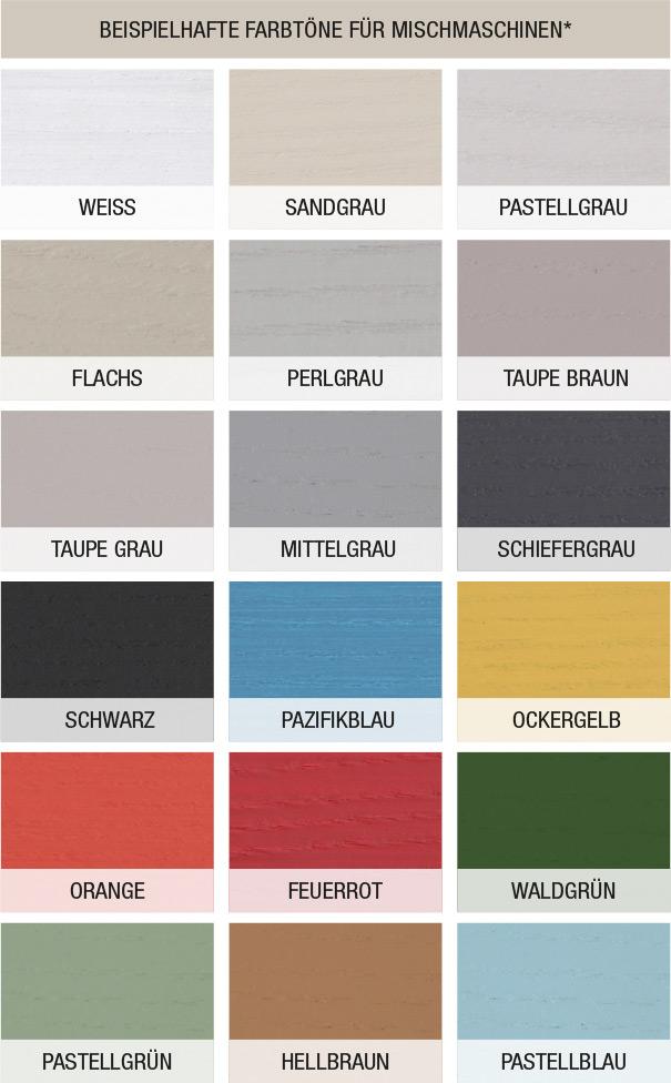 Nuancier Alle Farbe - Mauler