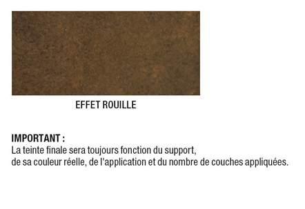 peinture multisupports effet rouille pour relooking de. Black Bedroom Furniture Sets. Home Design Ideas