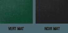 Nuancier peinture tableau noir/vert mat sans odeur