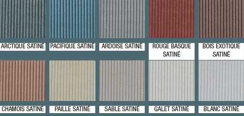 Farbpalette zur geruchsfreien Terrassenfarbe