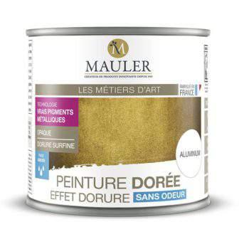 Peinture dorée effet dorure sans odeur Mauler
