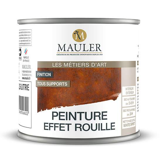 Peinture effet rouille Mauler