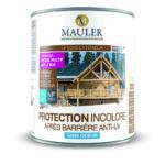 Protection incolore pour bois extérieur après barrière anti uv Mauler