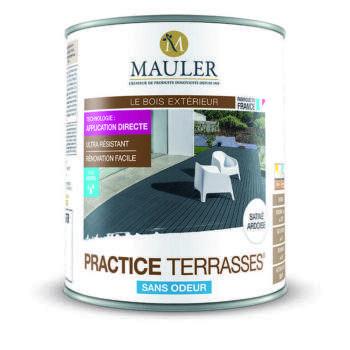 Rénovateur Practice terrasses bois sans odeur Mauler