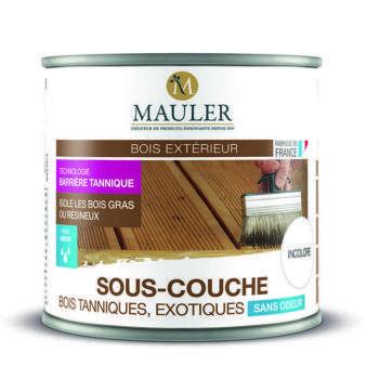 Sous-couche pour bois tanniques ou éxotiques sans odeur Mauler