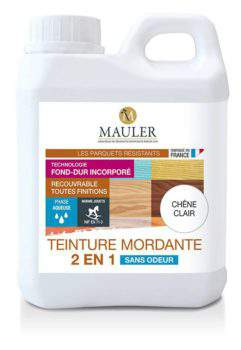 Teinture pour bois 2 en 1 sans odeur Mauler