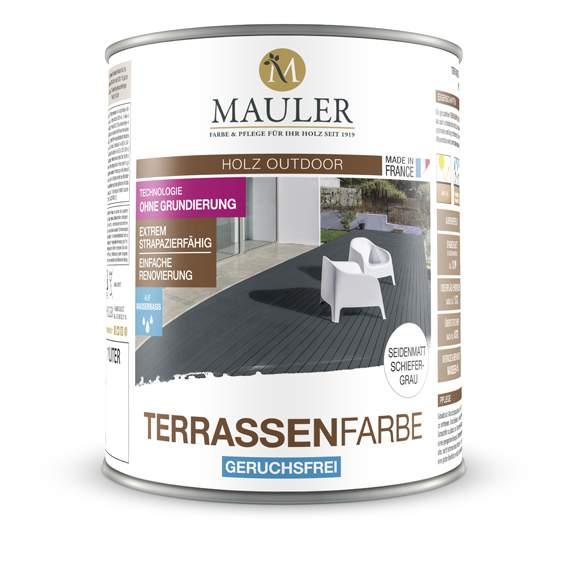 Geruchsfreie Terrassenfarbe Von Mauler Zur Renovierung Von