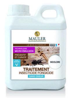 Insecticide et fongicide préventif et curatif bois sans odeur Mauler