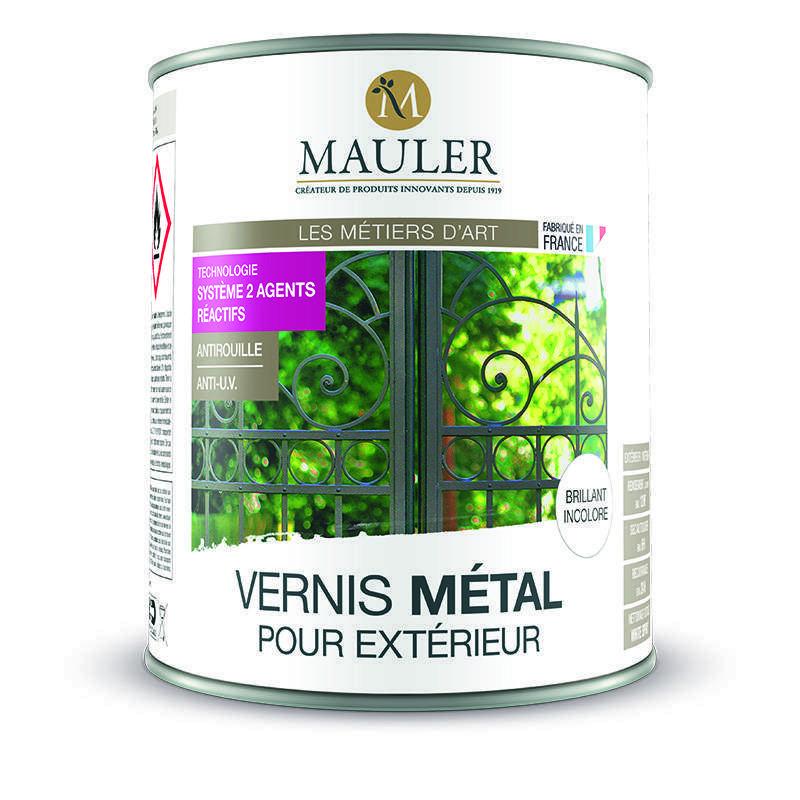 Vernis pour métal extérieur action anti-rouille Mauler