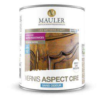 Vernis pour bois aspect cire sans odeur Mauler
