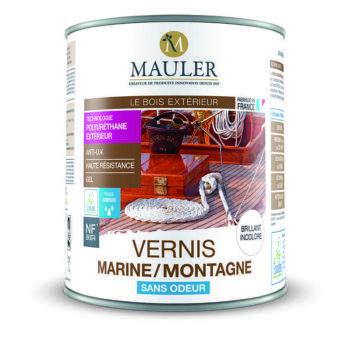 Vernis pour bois marine et montagne condition extrême sans odeur Mauler