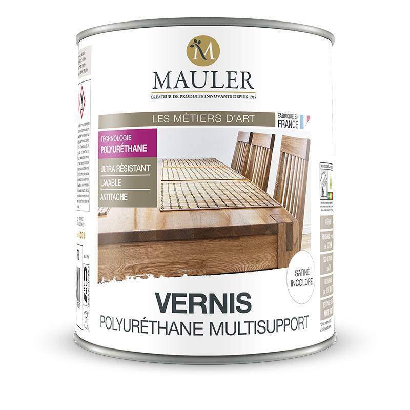 vernis polyur thane multisupport bois m tal stuc pvc mauler. Black Bedroom Furniture Sets. Home Design Ideas