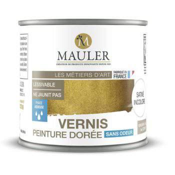 Vernis pour peinture dorée effet dorure sans odeur Mauler