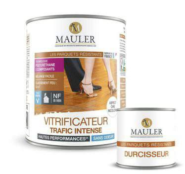 Vitrificateur bi composant spécial traffic intense sans odeur Mauler