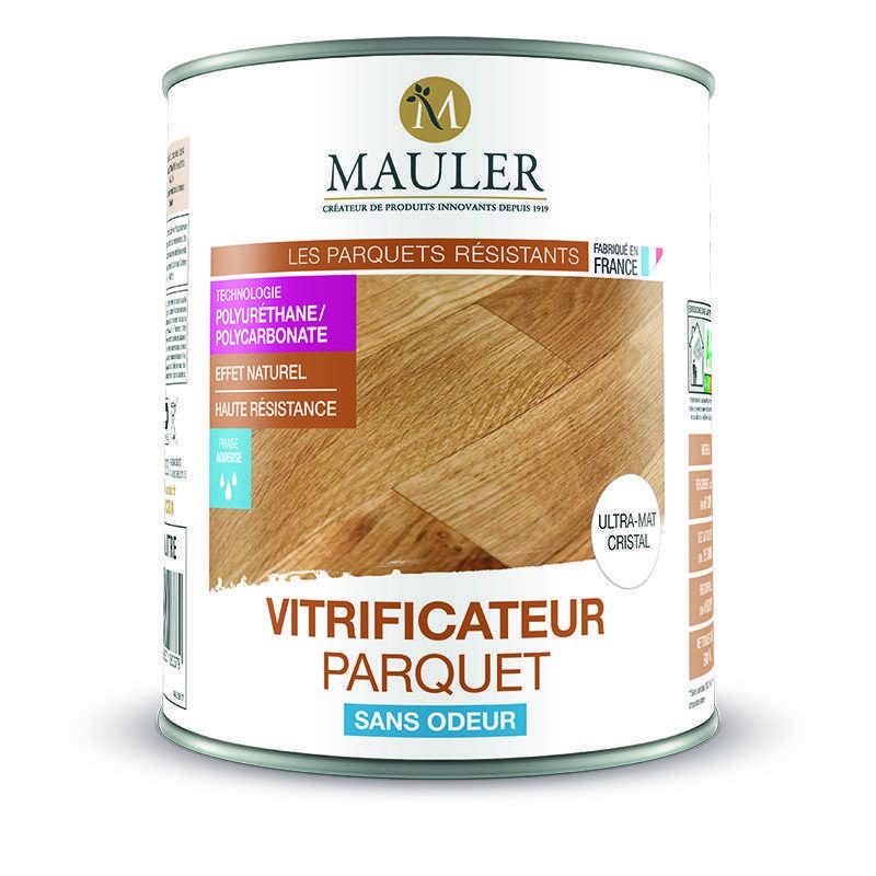 Vitrificateur parquet ultra-mat cristal sans odeur Mauler