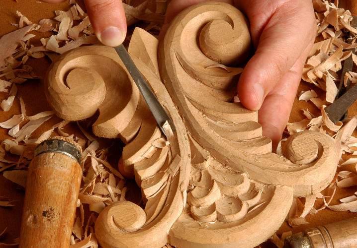 Produit bois pour les métiers d'art