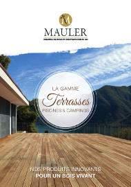 Brochure pour les terrasses et piscines