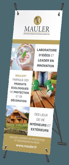 Roll-up Mauler, créateur de produits innovants pour le bois
