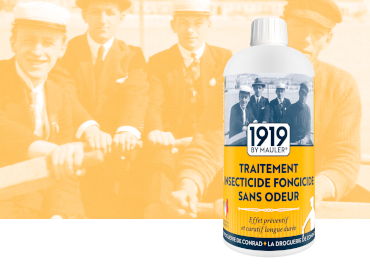 Traitement insecticide fongicide - 1919 BY MAULER