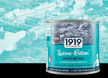 Laisse béton, effet béton - 1919 by Mauler