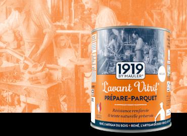 L'avant Vitrif, Prépare parquet - 1919 by Mauler