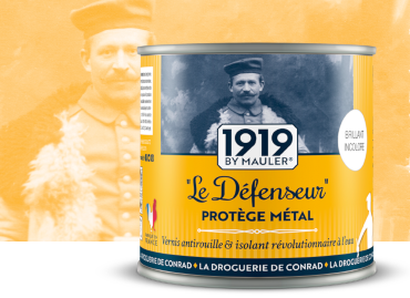 Le Défenseur, vernis métal antirouille - 1919 BY MAULER