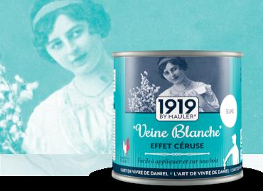 Veine Blanche, effet céruse - 1919 by Mauler